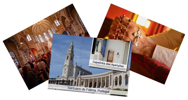 Santuário de Fátima, Missas e Orações