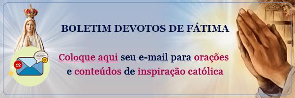 Botão de Inscrição Boletim Devotos de Fátima
