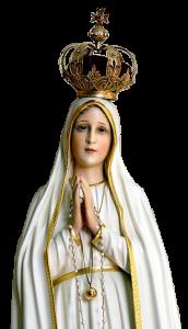 Imagem de Nossa Senhora de Fátima no texto sobre Pandemia e a Crise da Fé foram previstas em Fátima