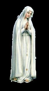 Virgem de Fátima no texto 13/05 - A Primeira Aparição de Nossa Senhora de Fátima