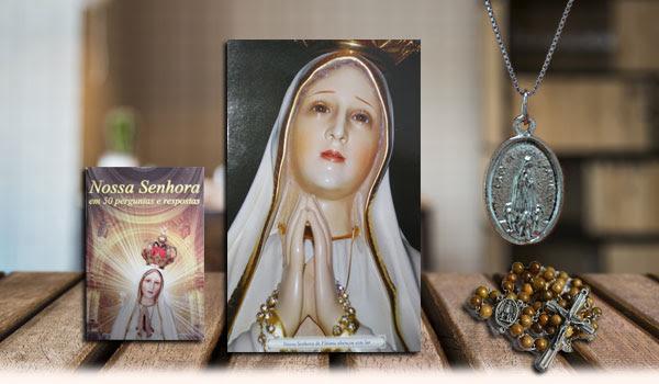 Presentes de Agradecimento do Grupo Apóstolos de Fátima no texto sobre O Papa que viu o Arcanjo São Miguel