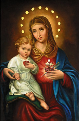 Imaculado Coração de Maria no texto Carta a um devoto do Imaculado Coração de Maria - Parte 1