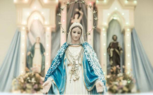 Nossa Senhora das Graças no texto Missa de Nossa Senhora das Graças - Deixe aqui seus pedidos. É GRÁTIS!