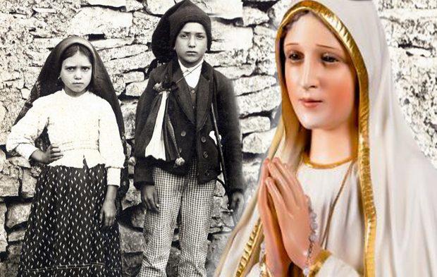 Jacinta, Francisco e Nossa Senhora de Fátima - O Alerta dos Pastorinhos de Fátima