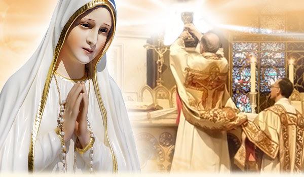 Missa de Nossa Senhora de Fátima pela Paz e Proteção dos Lares