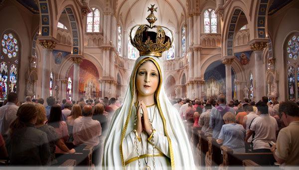 Nossa Senhora na Igreja no texto Oração a Maria pela Santa Igreja