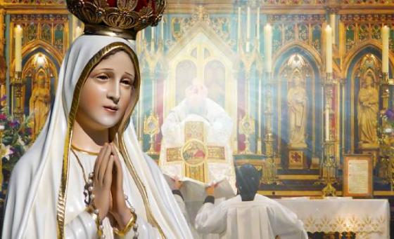 Presente dos Apóstolos de Fátima no texto O Segredo de Nossa Senhora de La Salette