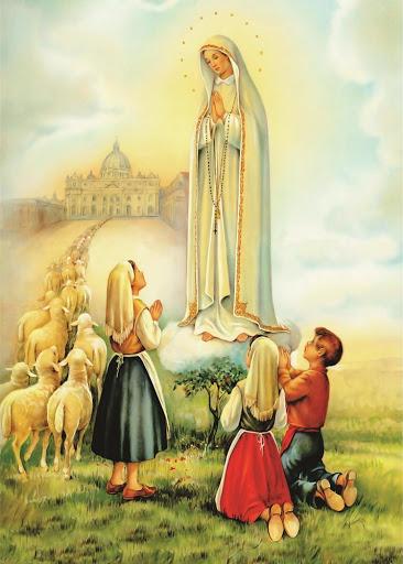 Aparição de Nossa Senhora em Fátima aos três pastorinhos