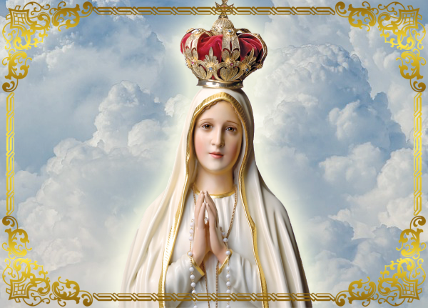 Nossa Senhora de Fátima no texto Novena a Nossa Senhora de Fátima – 6º Dia