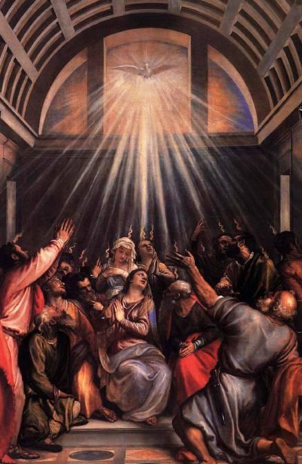 O Dia de Pentecostes e os dons do Espírito Santo em Maria