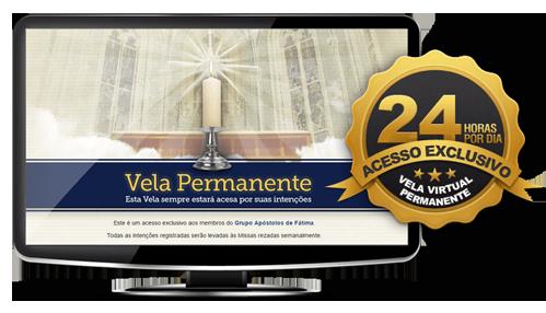 Vela Virtual Permanente dos Apóstolos de Fátima