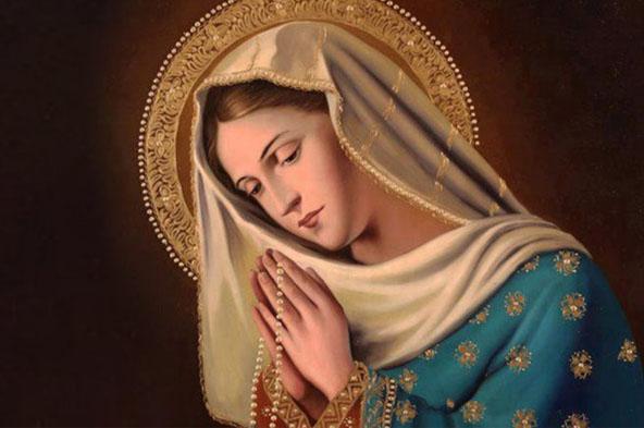 Virgem Maria no texto Duas atitudes cristãs que podem fazer a diferença na sua vida a partir de hoje!